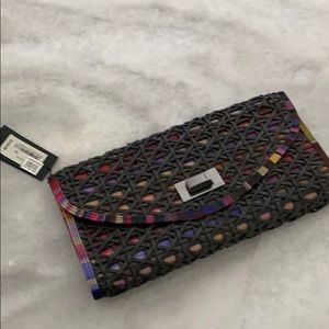 Ted Baker Colorful Clutch